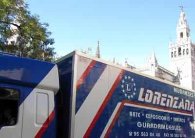 Mudanzas en Sevilla, servicio de almacenaje