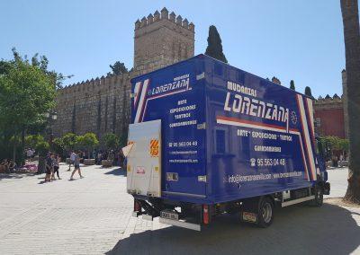 Las mejores mudanzas en Sevilla