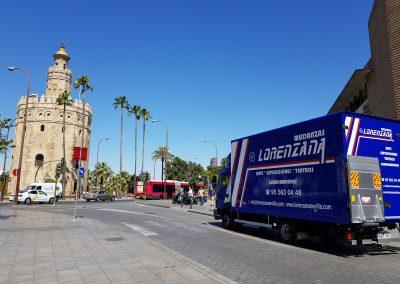 mudanzas en Sevilla